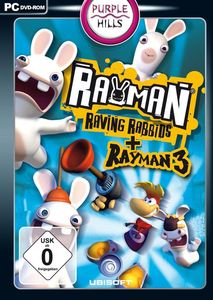 Rayman Raving Rabbids + Rayman 3 (Art.-Nr. 90445887) - Bild #1