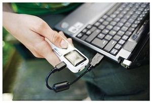 Philips Digital Voice Tracer DVT 615 hellweiss/platin-chrom,  miniUSB, 2GB, (Article no. 90446941) - Picture #2