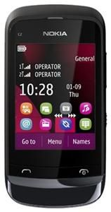 Nokia C2-03 schwarz (Article no. 90447219) - Picture #2