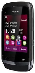 Nokia C2-03 schwarz (Article no. 90447219) - Picture #3
