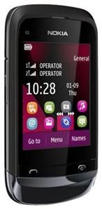 Nokia C2-03 schwarz (Article no. 90447219) - Picture #1