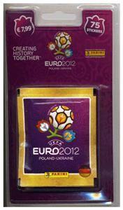 EURO 2012 Sticker-Blister mit 75 Stickern, Deutsche Version (Article no. 90447741) - Picture #1