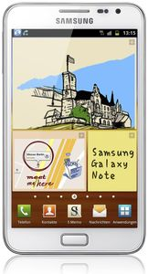 Samsung Galaxy Note N7000 16GB Android weiß (Article no. 90448160) - Picture #1