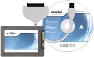 Crucial m4 256GB slim inkl. Datentransfer-Kit (Art.-Nr. 90449655) - Bild #2
