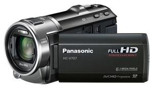 Panasonic HC-V707EG-K schwarz (Article no. 90449961) - Picture #1