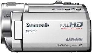 Panasonic HC-V707EG-S silber (Article no. 90449962) - Picture #2