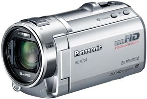 Panasonic HC-V707EG-S silber (Art.-Nr. 90449962) - Bild #1