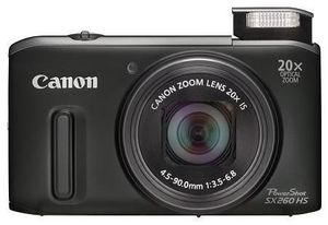 Canon PowerShot SX260 HS schwarz (Art.-Nr. 90450141) - Bild #4