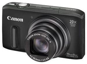 Canon PowerShot SX260 HS schwarz (Art.-Nr. 90450141) - Bild #1