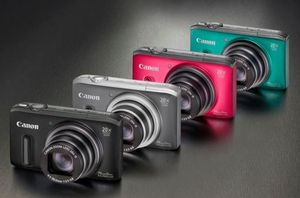 Canon PowerShot SX260 HS grün (Article no. 90450142) - Picture #4