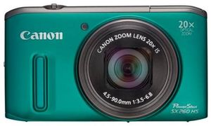 Canon PowerShot SX260 HS grün (Article no. 90450142) - Picture #2