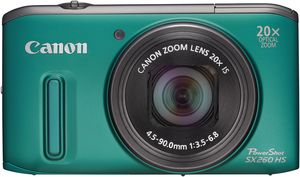 Canon PowerShot SX260 HS grün (Article no. 90450142) - Picture #5