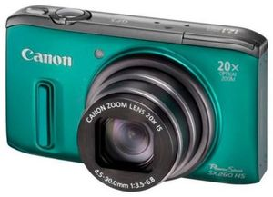 Canon PowerShot SX260 HS grün (Article no. 90450142) - Picture #1