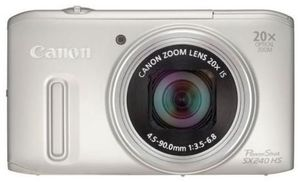 Canon PowerShot SX240 HS silber (Article no. 90450147) - Picture #2