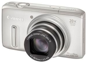 Canon PowerShot SX240 HS silber (Article no. 90450147) - Picture #1