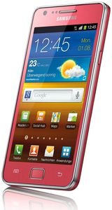 Samsung Galaxy S2 i9100G Android pink (Article no. 90450750) - Picture #1
