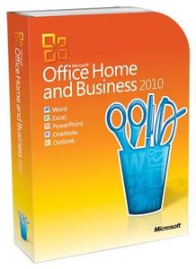 Microsoft Office 2010 Home & Business 2 PC / 1 Benutzer, (Article no. 90451275) - Picture #1