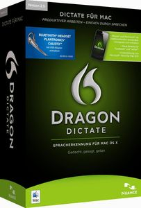Nuance Dragon Dictate 2.5 Mac Wireless Edu (item no. 90451293) - Picture #1