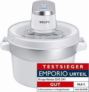Krups Venise G VS241 Eismaschine chrom/weiß (Article no. 90451852) - Picture #2