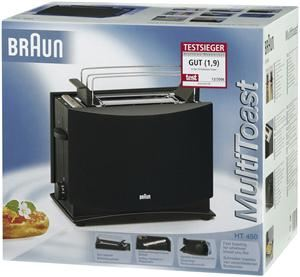 Braun HT450 Toaster schwarz (Article no. 90452279) - Picture #2