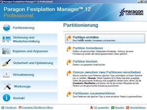 Paragon Festplatten Manager 12 Professional, (Article no. 90454064) - Picture #2