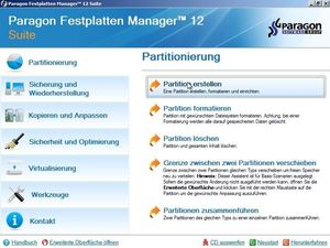 Paragon Festplatten Manager 12 Suite (Article no. 90454065) - Picture #3