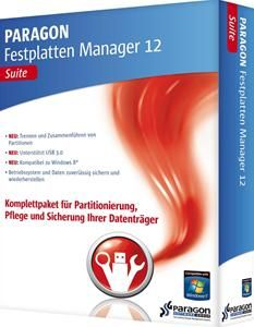 Paragon Festplatten Manager 12 Suite (item no. 90454065) - Picture #1