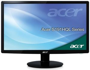 Acer S191HQLGb schwarz (Article no. 90455265) - Picture #1