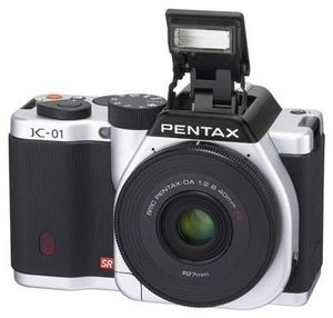 Pentax K-01 smc DA 18-55mm & 50-200mm silber/schwarz (Article no. 90456334) - Picture #2