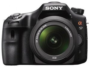 Sony Alpha 57 Kit SAL 18-55 mm schwarz (Article no. 90456414) - Picture #2