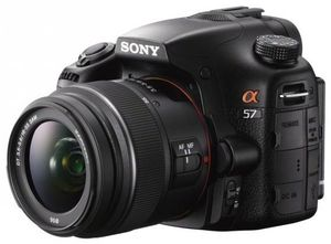 Sony Alpha 57 Kit SAL 18-55 mm schwarz (Article no. 90456414) - Picture #1
