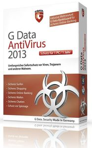 G Data AntiVirus 2013 1 User (Article no. 90457481) - Picture #1