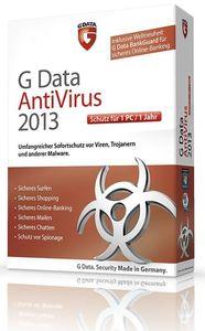 G Data AntiVirus 2013 1 User (Article no. 90457481) - Picture #1