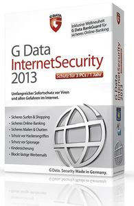 G Data InternetSecurity 2013 3 User (Article no. 90457483) - Picture #1
