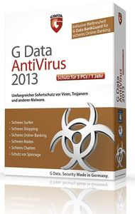 G Data AntiVirus 2013 3 User (item no. 90457484) - Picture #1