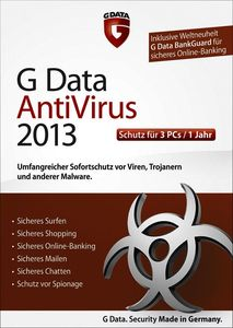 G Data AntiVirus 2013 3 User (item no. 90457484) - Picture #2
