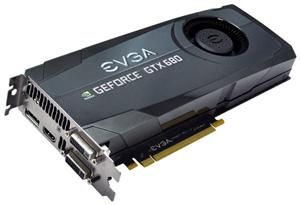 EVGA GeForce GTX680 2GBD5 SC+ Edition (item no. 90460369) - Picture #1