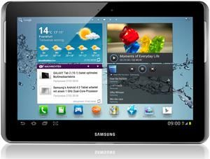 Samsung Galaxy Tab 2 10.1 3G 16GB Android titanium-silber (item no. 90463600) - Picture #1