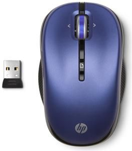 HP Wireless Optical Mobile Mouse Pacific Blue (item no. 90467473) - Picture #2