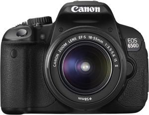 Canon EOS 650D EF-S 18-55 IS II (Art.-Nr. 90468325) - Bild #1