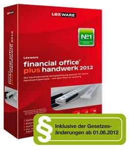 Lexware financial office plus handwerk Juni 2012 (item no. 90469585) - Picture #1