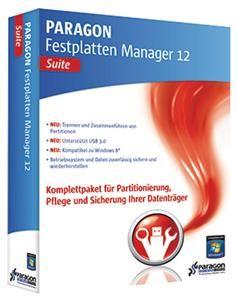 Paragon Festplatten Manager 12 Suite (Article no. 90454065) - Picture #2