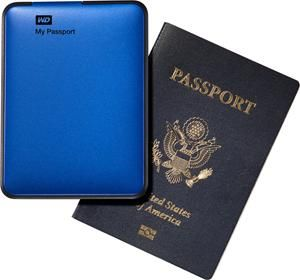 WD My Passport USB3.0 1TB blau (Art.-Nr. 90471187) - Bild #3