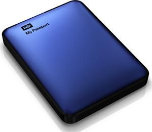 WD My Passport USB3.0 1TB blau (Art.-Nr. 90471187) - Bild #1