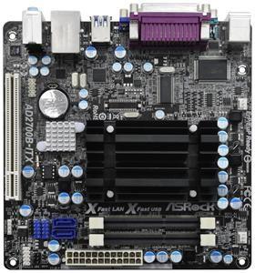 ASRock AD2700B-ITX Sockel BGA mITX (Art.-Nr. 90479759) - Bild #1