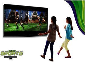 Microsoft Xbox 360 slim 250 GB inkl. Kinect+Kinect Sports+ Dance Central 2 (Art.-Nr. 90480170) - Bild #2