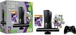 Microsoft Xbox 360 slim 250 GB inkl. Kinect+Kinect Sports+ Dance Central 2 (Art.-Nr. 90480170) - Bild #1