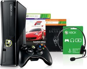 Microsoft Xbox 360 slim 250GB inkl. Forza 4 + Skyrim (Art.-Nr. 90480172) - Bild #2
