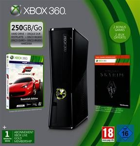 Microsoft Xbox 360 slim 250GB inkl. Forza 4 + Skyrim (Art.-Nr. 90480172) - Bild #3