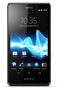 Sony Xperia T Android™, Smartphone  in schwarz